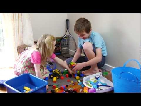 Clean Up, Pack Away | Cleaning Song For Children