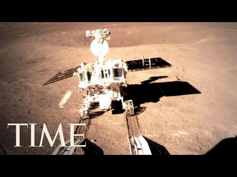 China Shares Pictures Taken By Rover And Spacecraft On The Far Side Of The Moon | TIME