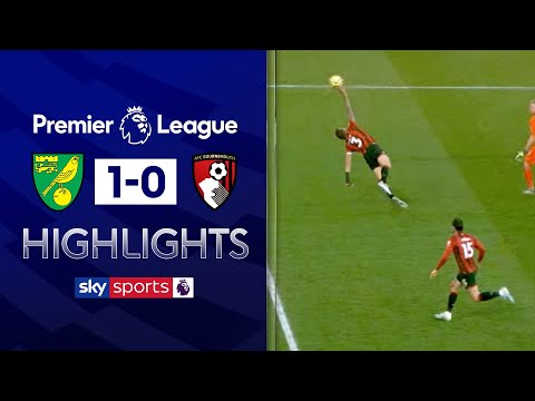 Cook sent off for brazen handball! | Norwich 1-0 Bournemouth | Premier League Highlights
