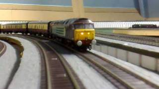 howes sound chipped class 47 chase sequence