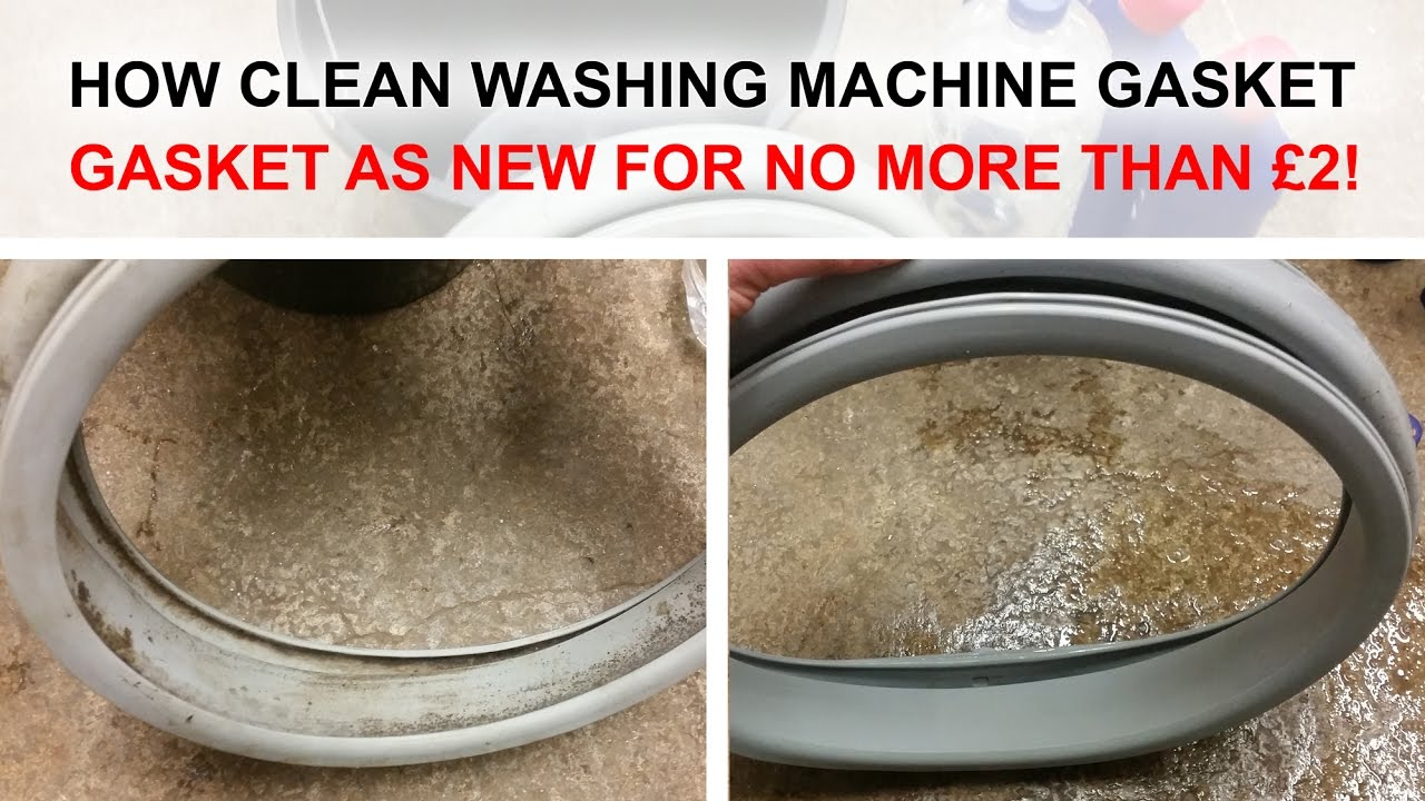 How To Clean And Remove 100 Mould From Washing Machine