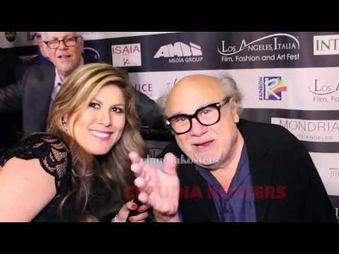 "Danny DeVito Interview ""LA Italia Film Fest"" Red Carpet"