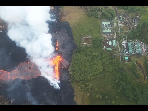 Lava Threatens Geothermal Plant In Hawaii