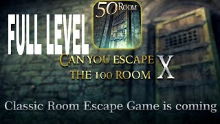 Can You Escape The 100 room X Walkthrough