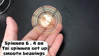 TechChecker #169 EReach EDC Hand Fidget Spinner High Speed  6 or 4 or tri spinner