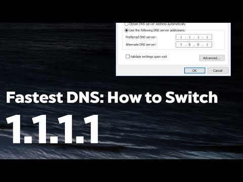 How to change DNS to 1.1.1.1 on Windows - Faster and Secure Internet Browsing
