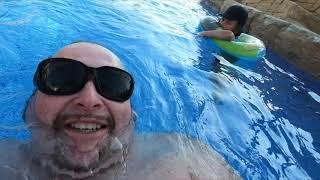 Hotels at Nissi Beach Ayia Napa Cyprus September 2019