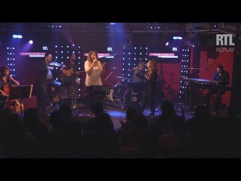 Julie Zenatti & Chimène Badi - Au café des délices (LIVE) Le Grand Studio RTL