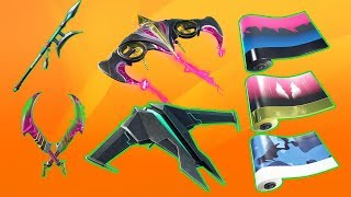 30+ Leaked Fortnite Cosmetics! (Gliders, Wraps, Pickaxes...)