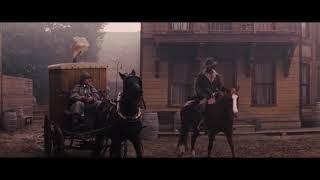 Момент из фильма «Джанго освобождённый» - Ниггер на коне