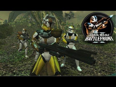 Star Wars Battlefront II Mod - DEV's Side Mod - Felucia: 327th Star Corps Gameplay