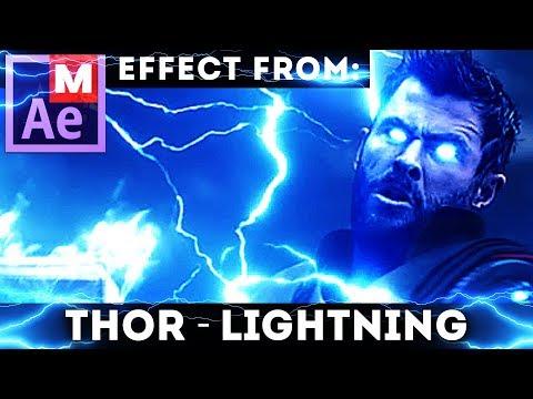 Avengers – Infinity War disintegration - After Effects tutorial