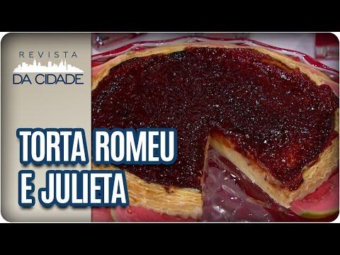 Receita de Torta de Massa Folhada Romeu e Julieta - Revista da Cidade (24/02/2017)