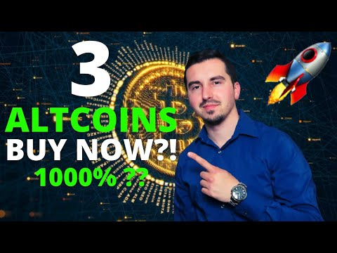 TOP 3 ALTCOINS I'M BUYING NOW 🚀 | CRYPTO April 2021 | Dogecoin is Skyrocketing 🚀|