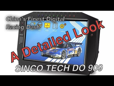 Chinese Digital Dash - Sinco Tech DO 909 Details