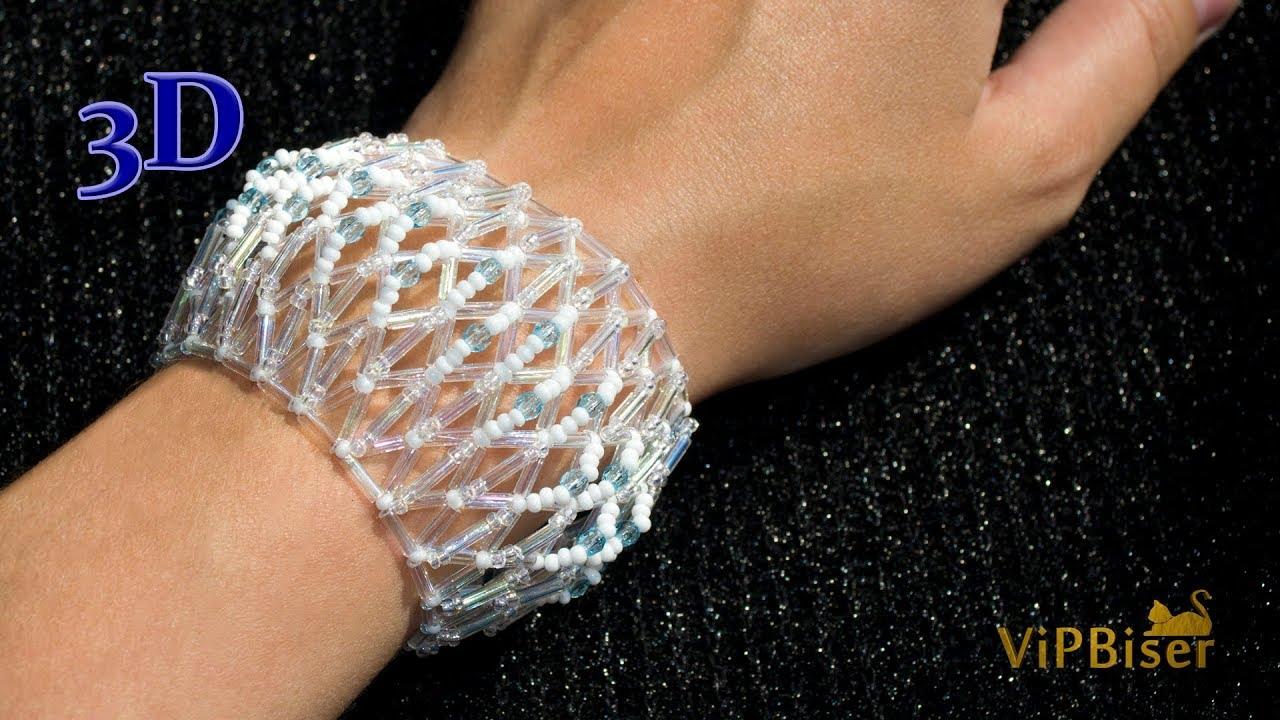 Beaded Bracelet With Bugle Beads