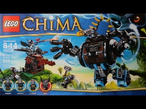 News: LEGO Chima NY Toy Fair 2013 Pictures, 70007, 70008, 70009, 70010, 70105, 70106, 70107, 70108