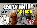 CONTAINMENT BREACH! Class D - Gmod SCP Life Roleplay #1 (WHERE AM I, What Are Them Weird Noises)