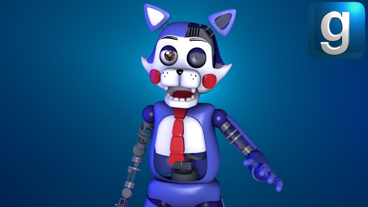 Gmod FNAF | Brand New Five Nights at Candy's 2 Nextbots!