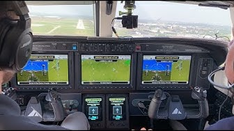 Garmin Emergency Autoland Flight Trial