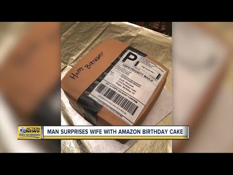 JT Bosch - North Carolina Man Give's His Wife A Very Special Birthday Cake