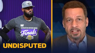 Chris Broussard: LeBron's title run in the bubble is tougher than others | NBA | UNDISPUTED