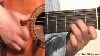 aprender a tocar la guitarra arpegio con cambio de acordes demo 15