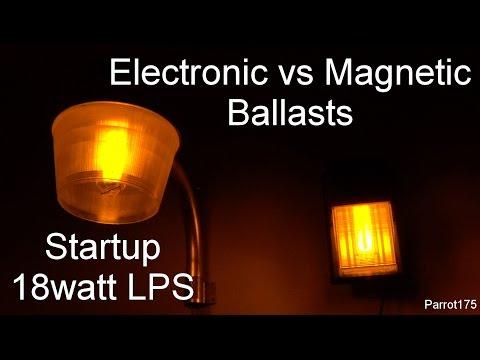 18watt Low Pressure Sodium Electronic vs Magnetic Ballasts