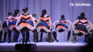Russian girls twerk Orenburg Dancing School