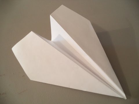 How to Fold the World's Farthest Flying Paper Plane (Designed by John Collins)