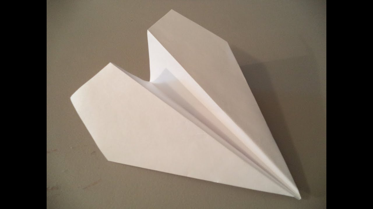 how to make the longest flying paper airplane ever