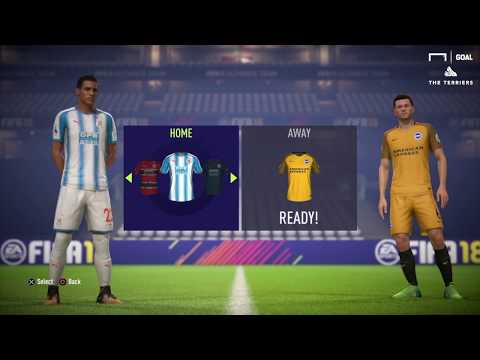 WATCH: Huddersfield Town on FIFA 18