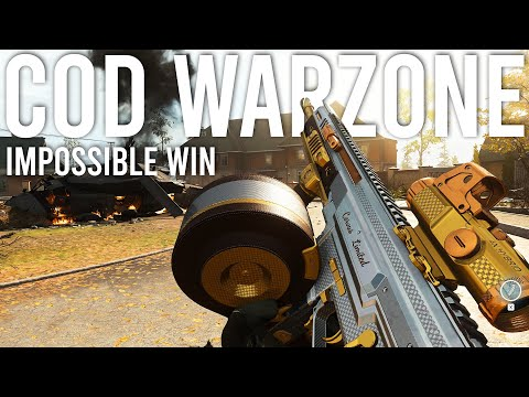 Call Of Duty Warzone Impossible Win