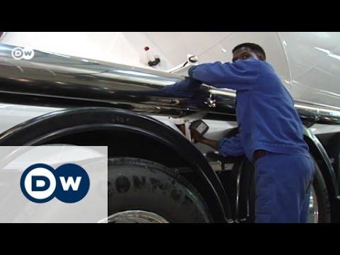 Nahaufnahme Winsen - Flüchtlinge willkommen | Made in Germany