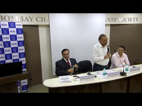 "Lecture Meeting on ""GST Audit Report – Clause wise Analysis"""