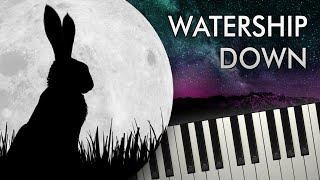 BRIGHT EYES from WATERSHIP DOWN - Piano Tutorial