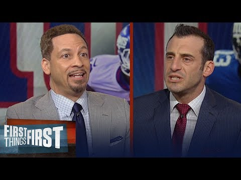 Gottlieb and Broussard disagree whether the Giants should trade OBJ | NFL | FIRST THINGS FIRST