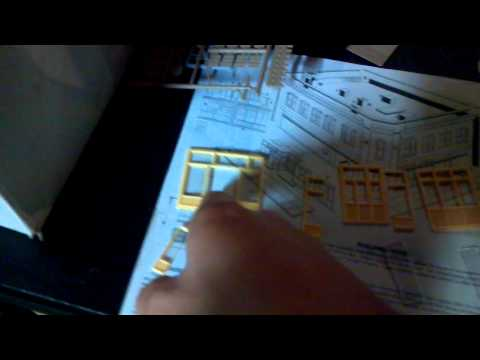 Model Railroad Kit Building Tip