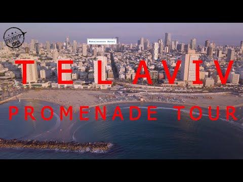 Tel Aviv promenade from Tel Aviv port to Jaffa port