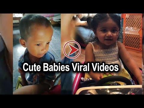 Cute Babies Viral Videos   Oneindia Telugu