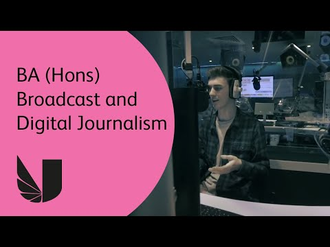 BA Broadcast Journalism at the University of West London