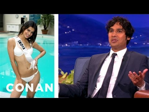 Kunal Nayyar's Tips On Being Married To Miss India  CONAN on TBS