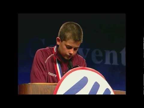 Joseph Girard III's 2012 Elks National Convetion Speech