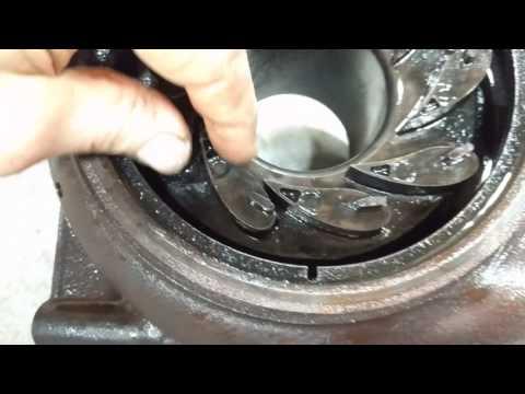 2007 Duramax LBZ Sticky Turbo VGT vanes - Error Codes P003A P2563