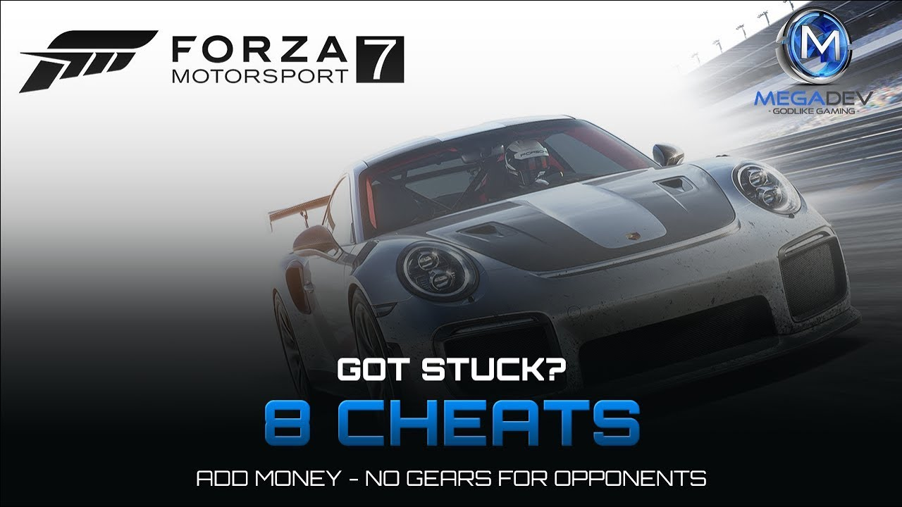 FORZA MOTOSPORT 7: Add money, No gears for opponents,     | Trainer by  MegaDev