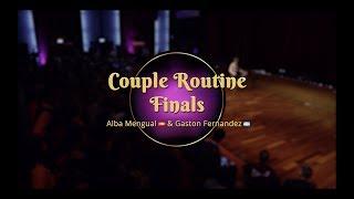 Savoy Cup 2018 - Couple Routine Finals - Alba Mengual & Gaston Fernandez