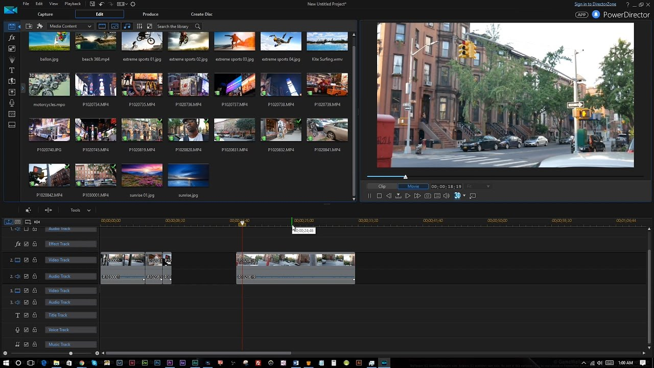 powerdirector video editor for pc