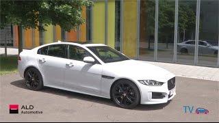 Test drive JAGUAR XE par ALD Automotive Luxembourg