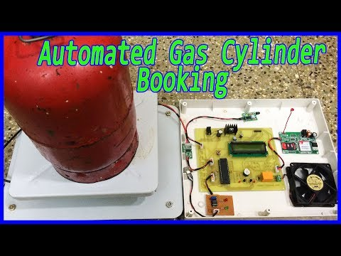 How to make Automated Gas cylinder booking system