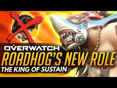 Overwatch | Roadhog's New Role! The King Of Sustain - Is It Enough?